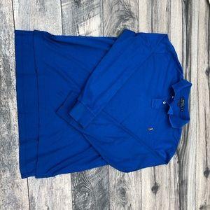 Polo Ralph Lauren Pima cotton blue L/S polo